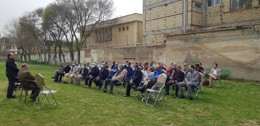 گردهمایی مربیان کرمانشاه با حضور دبیرکل کانون مربیان فوتبال ایران
