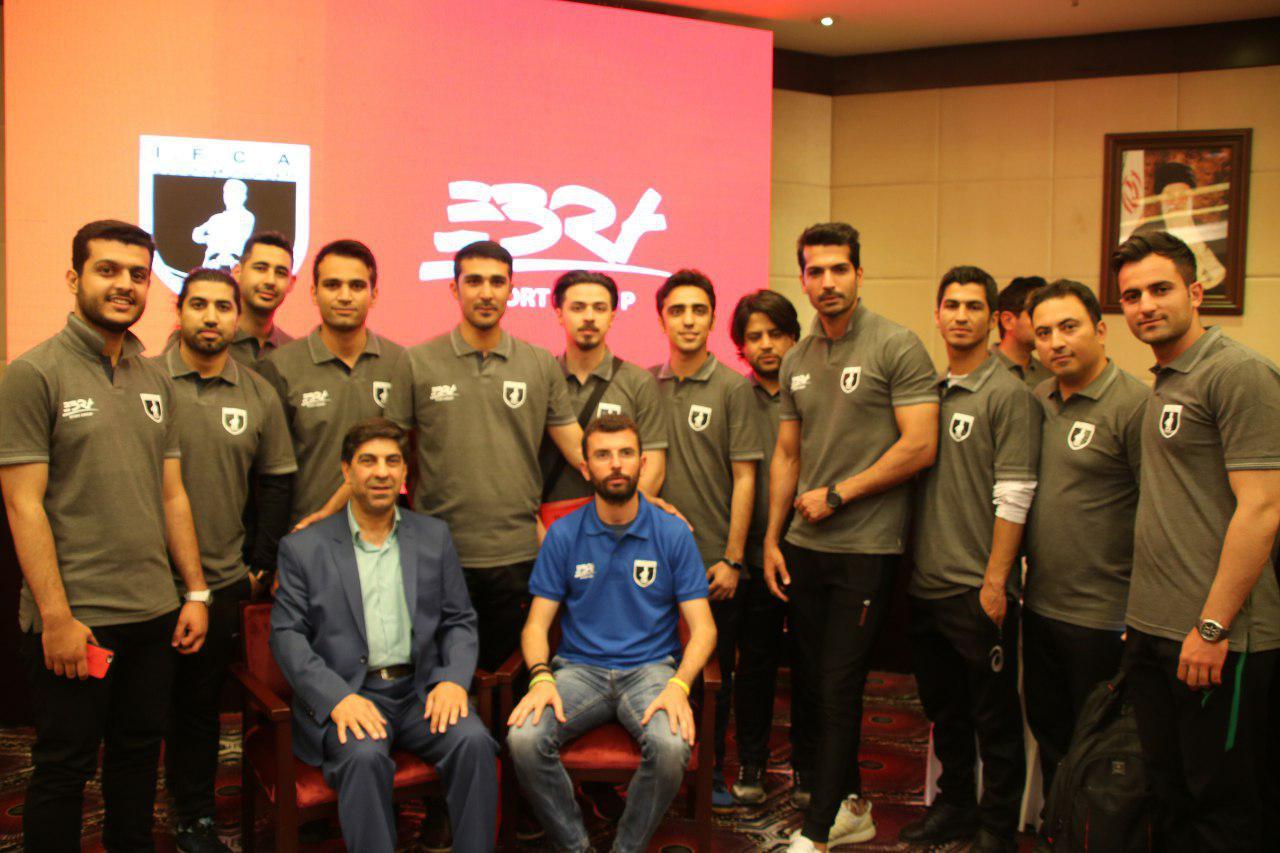 کارگاه آموزشی مربیگری فوتبال با موضوع فلسفه فوتبال پایه اسپانیا با همکاری شرکت ابرا