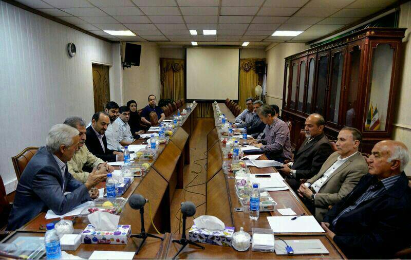 گزارش تصویری جلسات هیات مدیره کانون مربیان فوتبال ایران