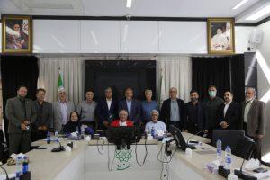 نشست هیات مدیره کانون مربیان فوتبال ایران در مردادماه ۱۴۰۰