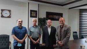 دیدار مسئولین کانون فوتبال ایران با رئیس صندوق حمایت از قهرمانان و پیشکسوتان ورزش کشور