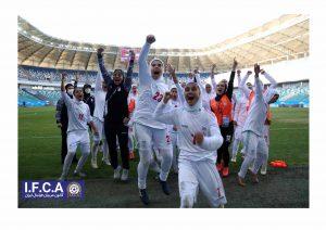 پیام کانون مربیان فوتبال ایران در پی راهیابی بانوان فوتبالیست به مرحله نهایی جام ملتهای آسیا